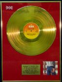 BRUCE SPRINGSTEEN - LP 24 Carat Gold Disc BORN IN USA